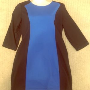 MARC NEW YORK by ANDREW MARC colorblock dress szL
